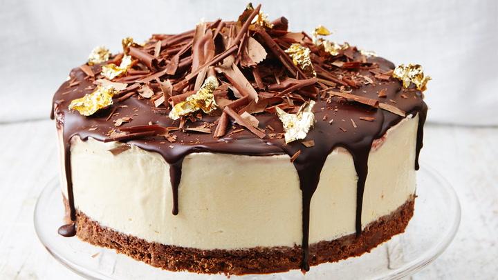 Frozen Banoffee Cheesecake Chocolate Recipes Jamie