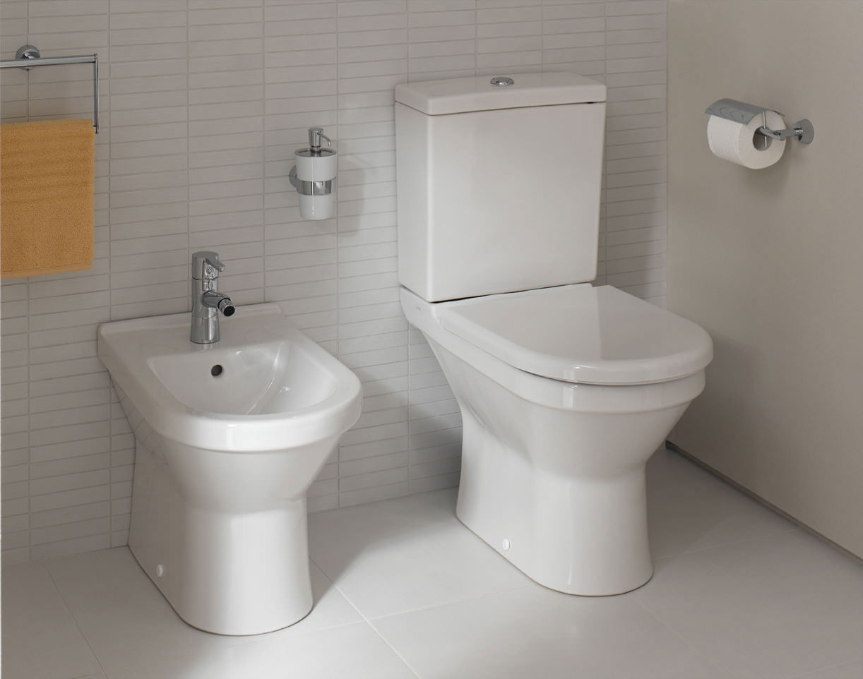 VitrA S50 355 X 540mm Floor Standing Bidet 5325L003 0288