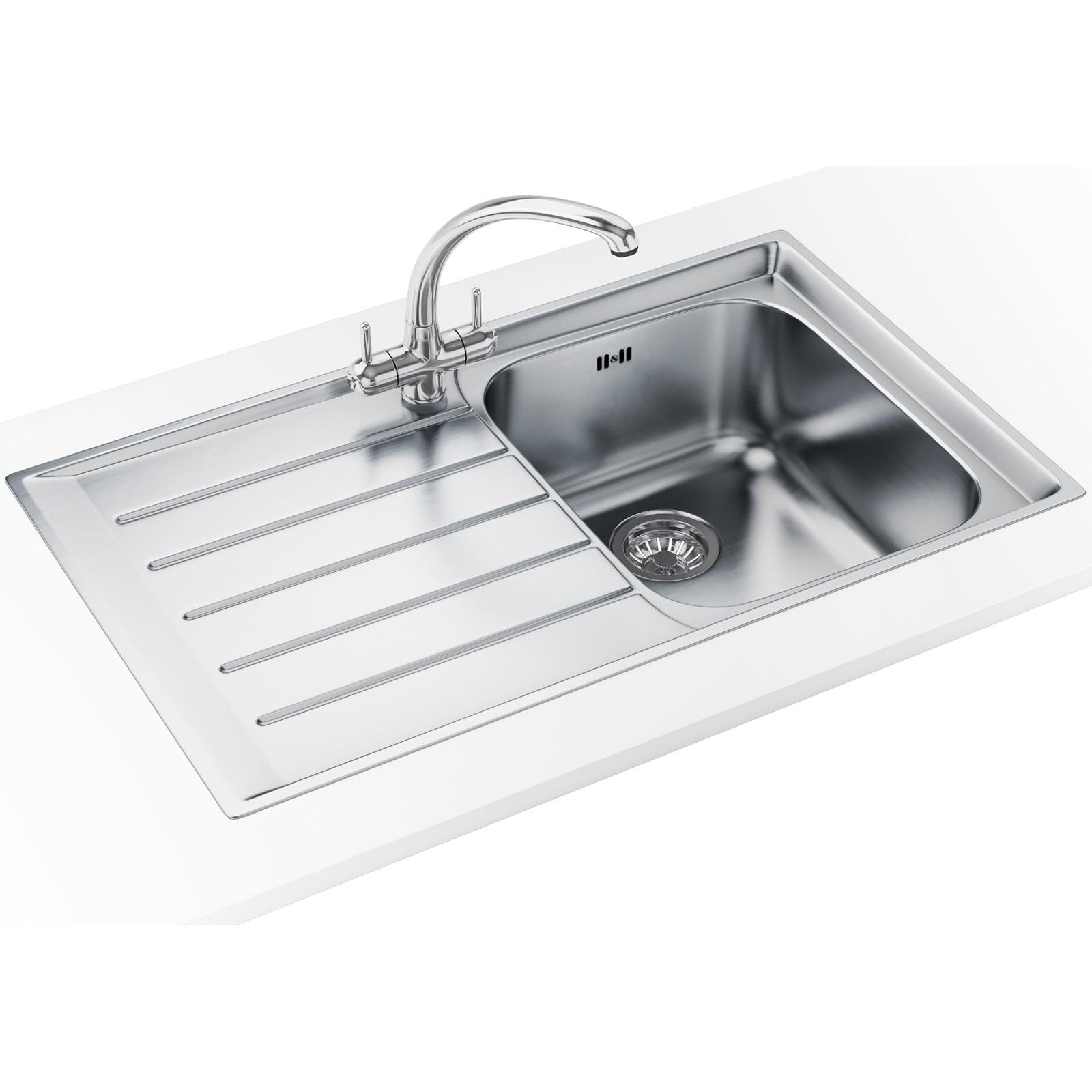 Franke Neptune Propack NEX 211 Stainless Steel Sink And