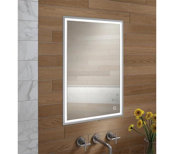 HIB Vanquish 50 LED Demisting Recessed Mirror Cabinet 530