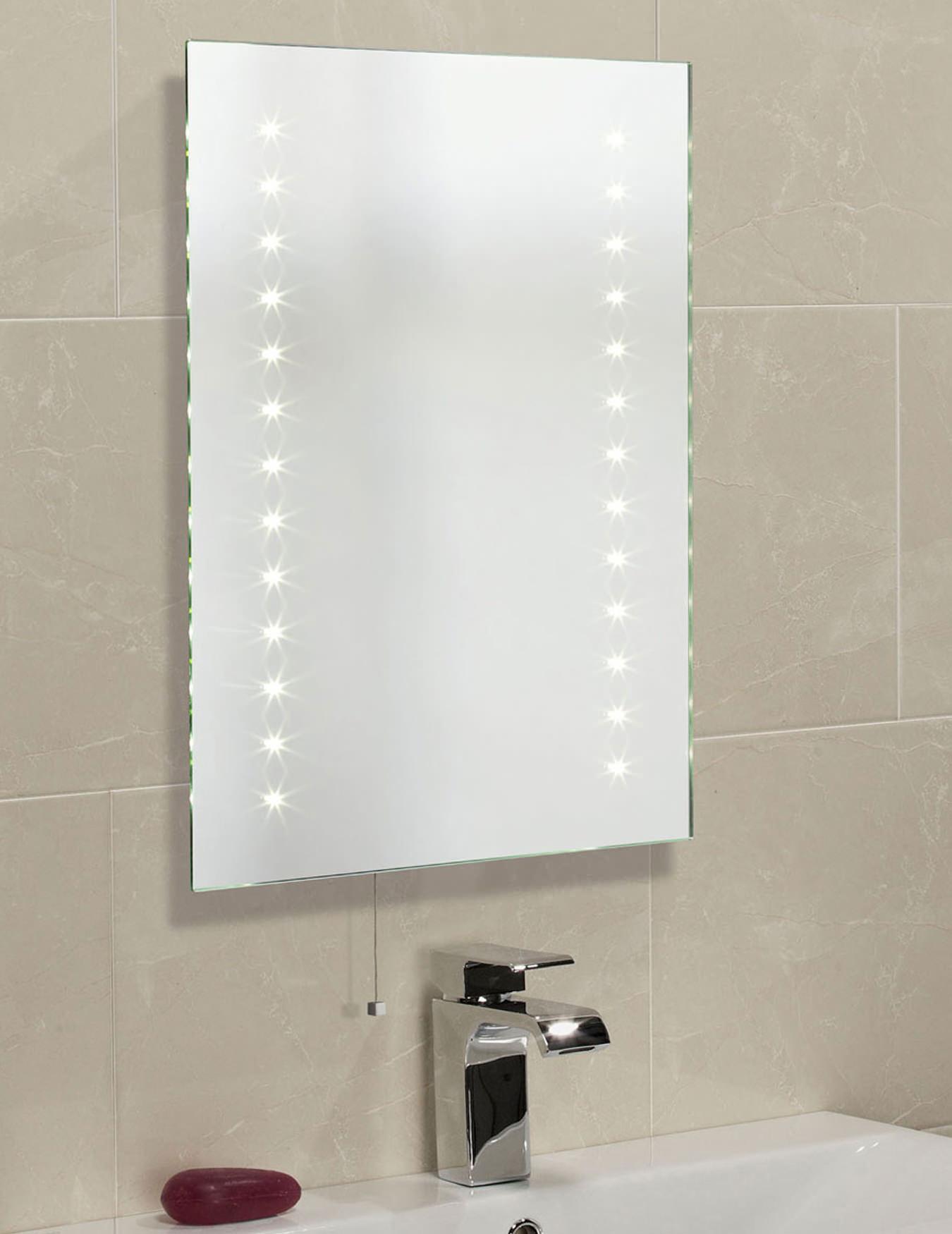 Roper Rhodes Clarity Atom LED Illuminated Mirror 600 X