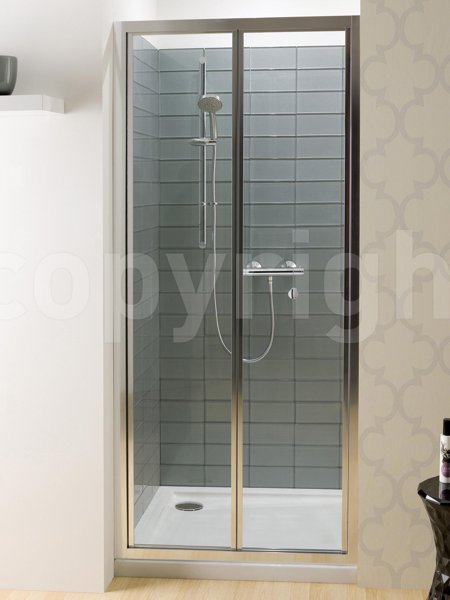 Simpsons Edge Bi Fold Shower Door 900mm Ebfsc0900