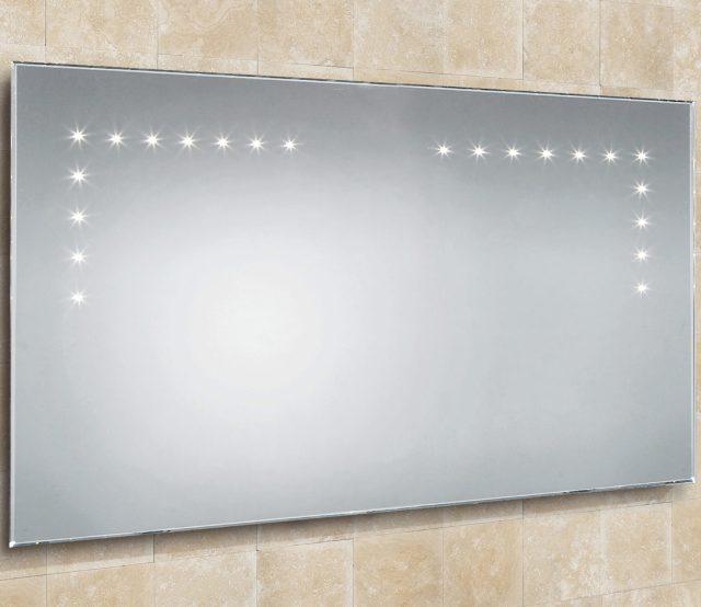 HIB Aaron Landscape Bevelled Edge LED Bathroom Mirror 1000x530mm
