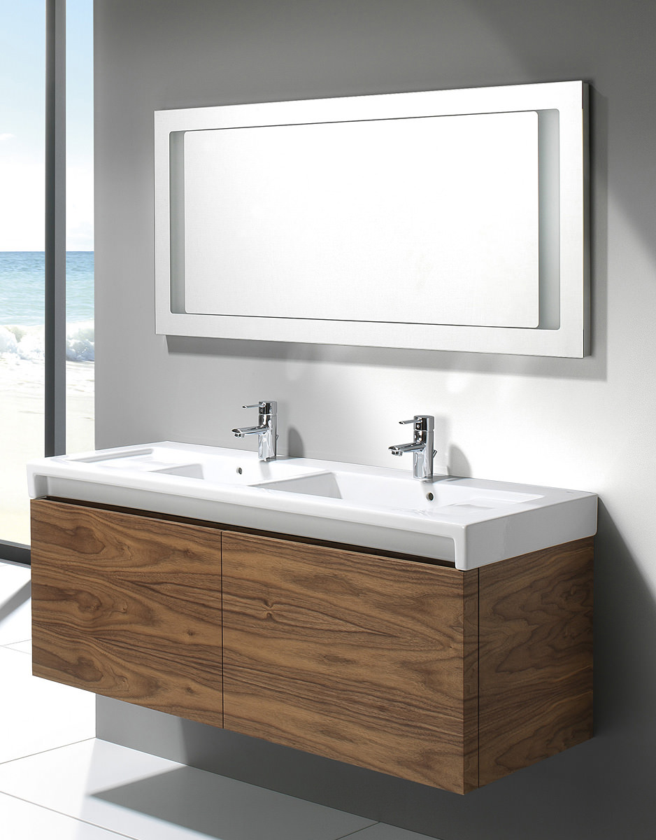 Roca Stratum Mirror With Integrated Light 1300 X 600mm
