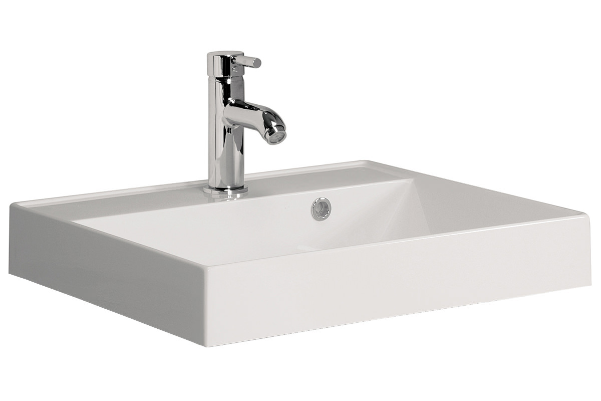 Bauhaus Design 500mm 1TH Cast Mineral Marble Vanity Basin