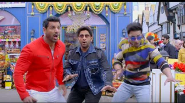 Image result for Pagalpanti trailer out: John Abraham, Anil Kapoor and gang are hilarious in new brainless comedy