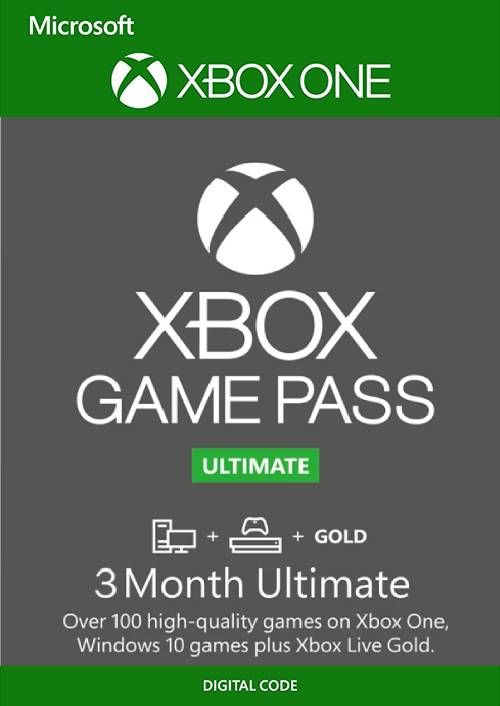 3-Month Xbox Game Pass Ultimate
