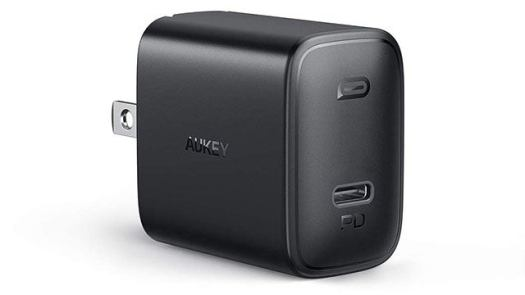 Aukey USB PD Type-C Wall Charger (Perfect for Nintendo Switch)
