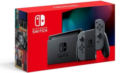 Nintendo Switch on Amazon (Gray)