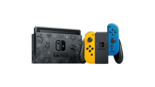 Limited Edition Fortnite Nintendo Switch Bundle