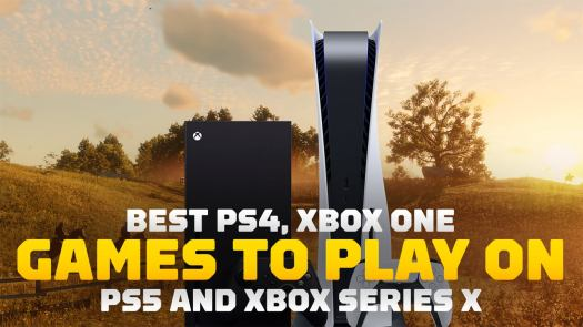 <h3>Best PS4, Xbox One Games to Play on PS5 and Xbox Series X</h3>The next generation of consoles is finally here, but unlike last time, a big feature of both the PlayStation 5 and Xbox Series XS is that they are almost fully compatible with the previous generation's games. But the older games aren't just simply playable – almost every single one of them has framerate improvements and decreased load times thanks to the new consoles' beefier hardware. So while there are a bunch of new games available at launch, here are our suggestions for older games you should absolutely revisit on a next generation console.<br>