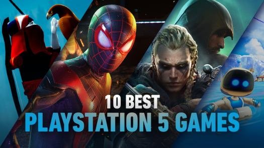 <h2>The Top 10 PS5 Games</h2>The PS5 may have just started its life as a game console, but that doesn't mean there aren't a ton of great experiences already available for early adopters of the platform.<br>Between several exclusive launch titles, third-party next-gen games, and Sony's new commitment to backward-compatible gaming, there's a lot to choose from - here are our picks for the ten best games you can dig into on your Playstation 5 right now.<br><br>Let us know hat's on your list that didn't make ours in the comments!