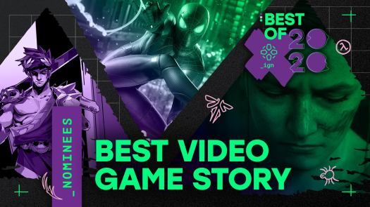 The game with the best narrative development and overall story elements.