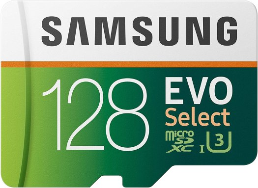 Samsung EVO 128GB MicroSD Card
