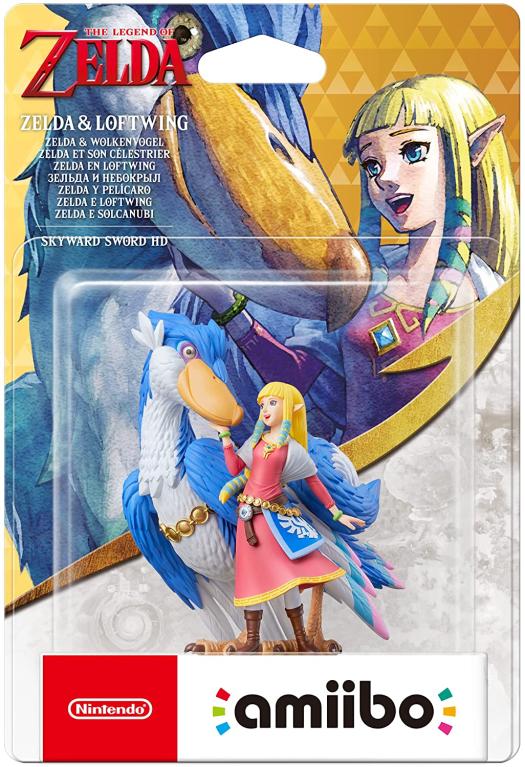 Zelda & Loftwing Amiibo