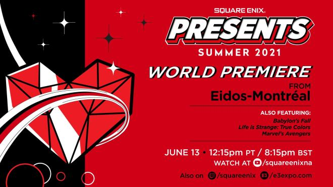 square-enix-presents-summer-2021-1623104573300 E3 2021 Schedule: Every Event and Show Announced So Far | IGN