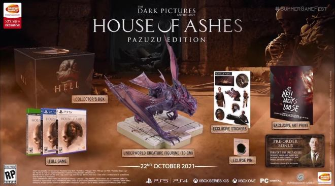 dark-pictures-house-of-ashes-collectors-edition-1623353206796 House of Ashes: Here's What Comes in Each Edition   IGN