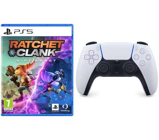 Ratchet & Clank: Rift Apart & PS5 DualSense Wireless Controller Bundle