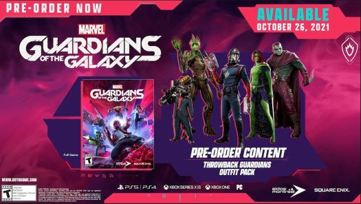 Marvel's Guardians of the Galaxy Is Up for Preorder - E3 2021 4
