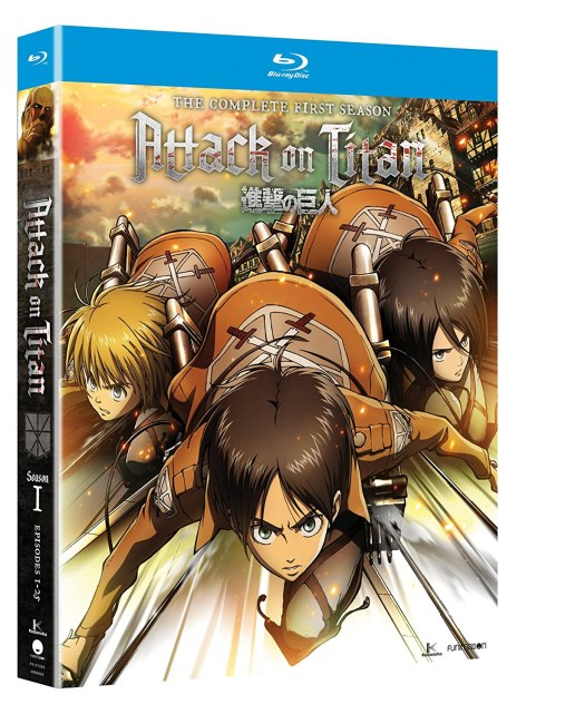 A Ton of Anime Blu-Rays