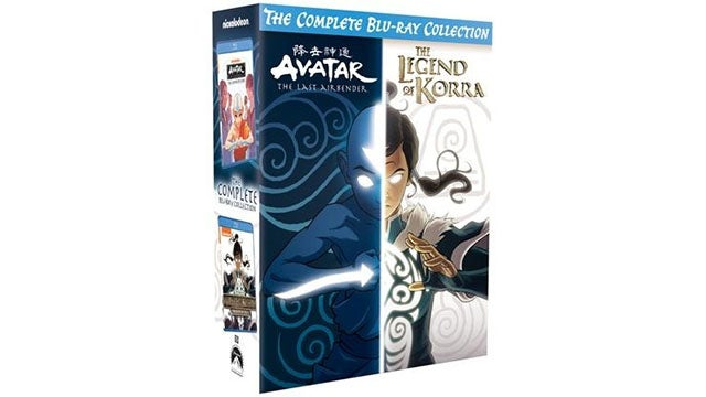 Avatar & Legend of Korra Complete Series Collection Blu-ray