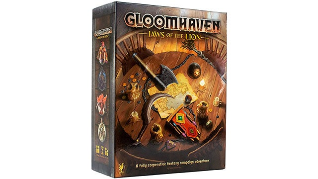 Glooomhaven: Jaws of the Lion Board Game