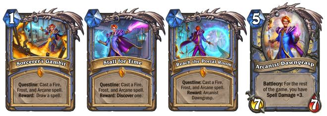 sorcerers-gambit-dawngrasp-ign-1625143849734 IGN's United in Stormwind Hearthstone Card Reveal   IGN