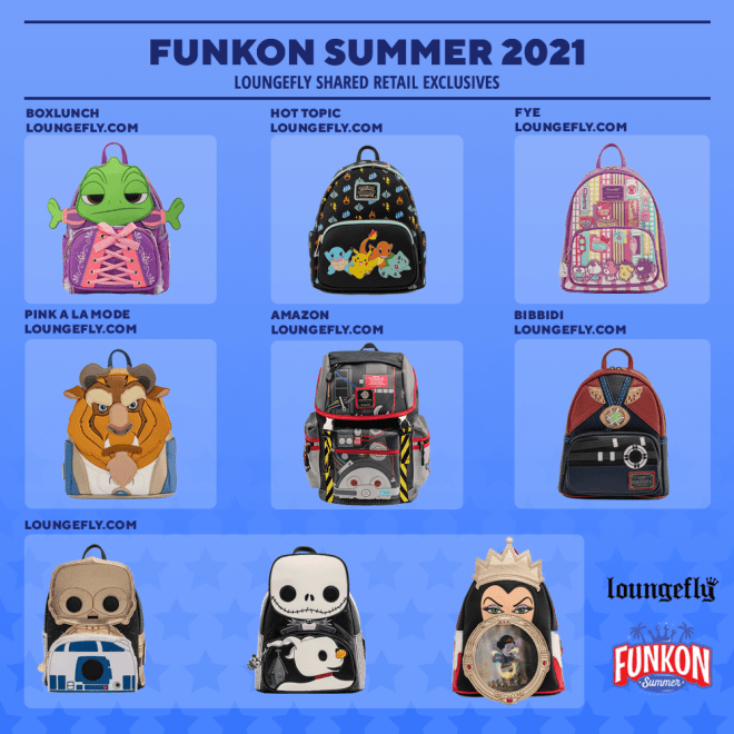 funkon-2021-loungefly-exclusives-1626814885222 SDCC and FunKon 2021 Exclusive Funko Pops and More Up for Preorder | IGN