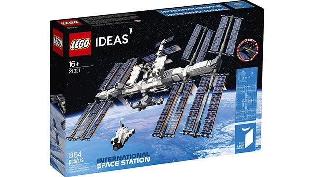 LEGO Ideas International Space Station 21321 864-Piece Building Kit