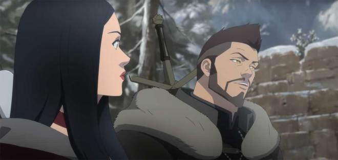 vesemir-and-tetra-1626908537071 The Witcher: Nightmare of the Wolf Anime Trailer Breakdown | IGN
