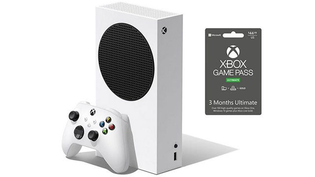 Microsoft Xbox Series S Bundle with 3 Months of Xbox Game Pass Ultimate