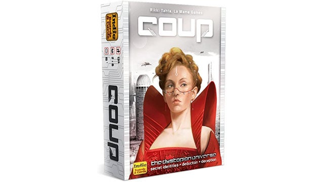 Coup board game (the dystopian universe)