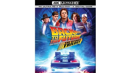 Back to the Future: The Ultimate Trilogy in 4K UHD Blu-ray