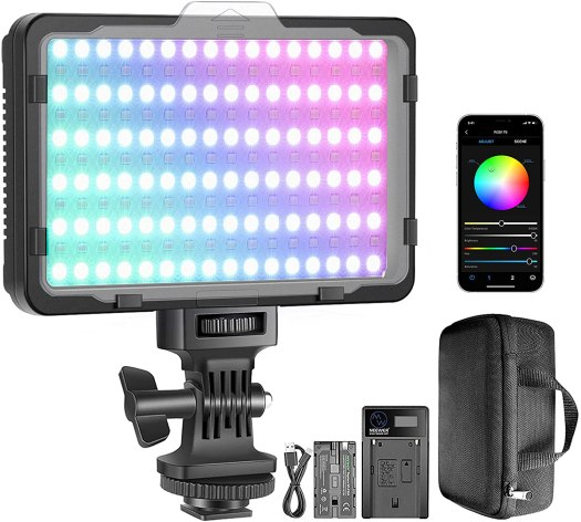 Neewer RGB Video Light with APP Control