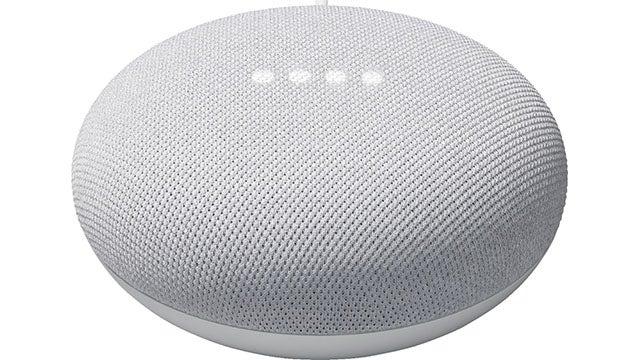 Nest Mini (2nd Generation) Smart Speaker with Google Assistant