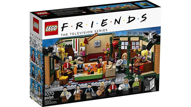LEGO Ideas Central Perk 21319 1,070-Piece Building Kit