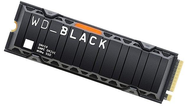 WD Black SN850 1TB PCIe Gen4 x4 M.2 SSD (up to 7000MBps)
