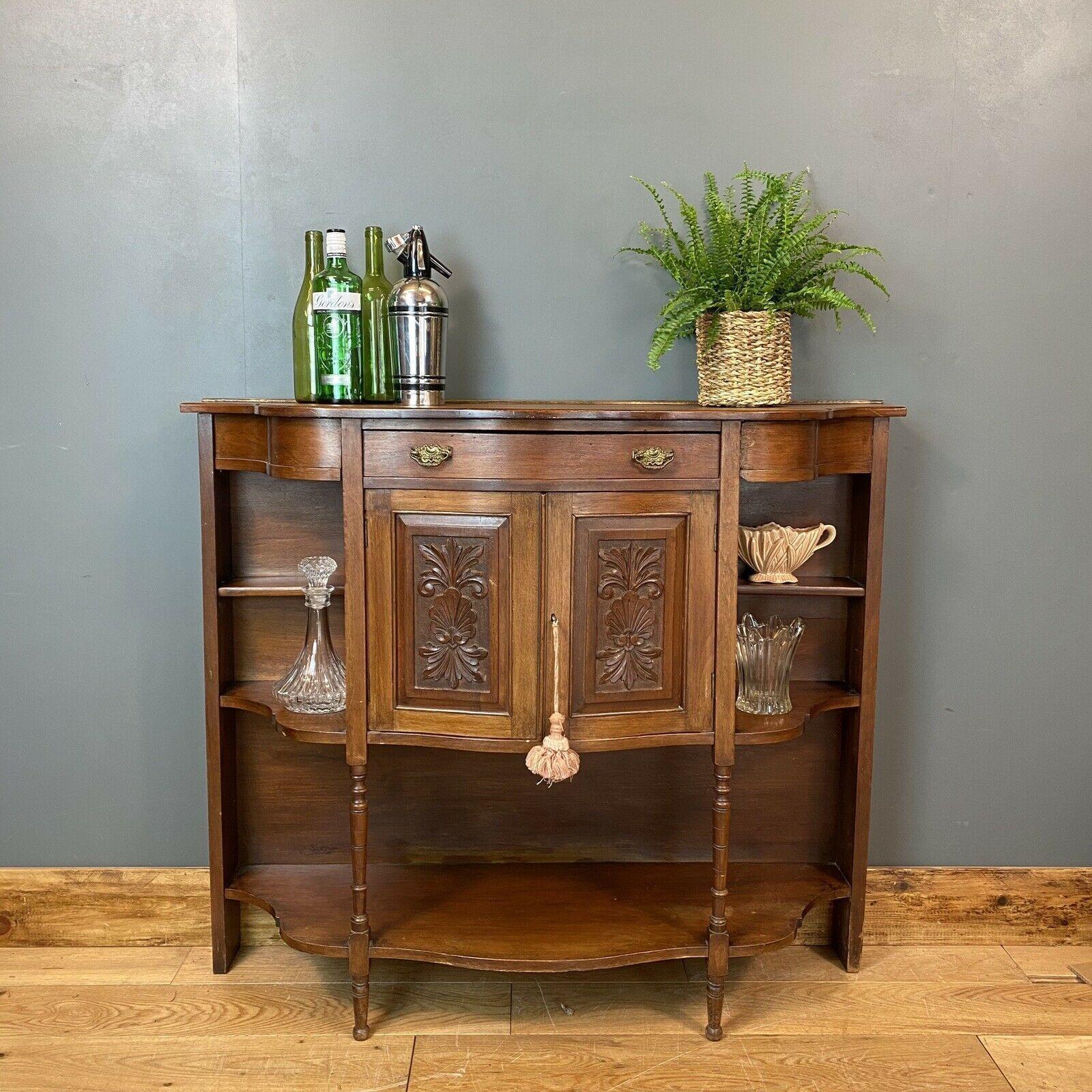 Antique Mahogany Sideboard Edwardian Chiffonier Buffet Server Drinks Cabinet Unknown Vinterior