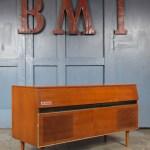 Vintage Mid Century 1960s Pye Radiogram Record Player Cabinet Pye Vinterior
