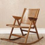 Vintage Retro Mid Century Modern Niko Kralj Rex Rocking Chair Vinterior