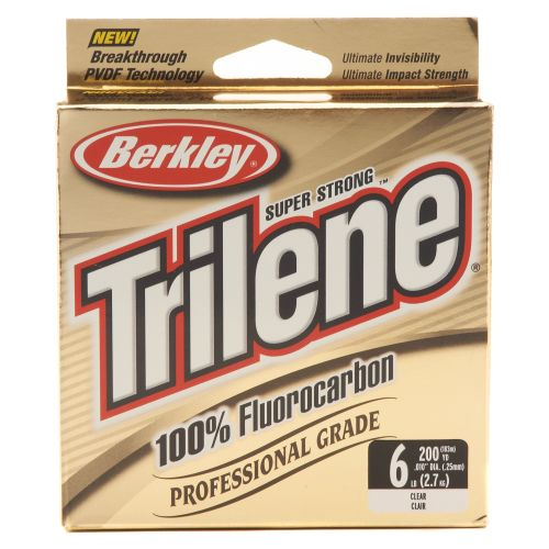 Berkley® Trilene 200-Yard Professional-Grade 100% Fluorocarbon Fishing Line - view number 1