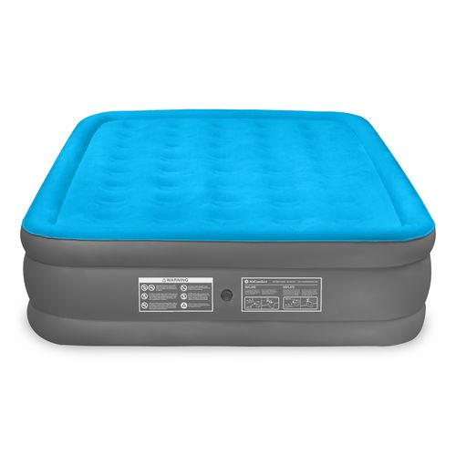 Air Comfort Camp Mate Raised Queen Size Mattress With Battery Ed Pump
