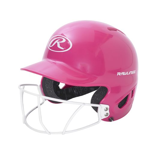 Rawlings Youth Mlb Authentic Style T Ball Batting Helmet With Faceguard Academy