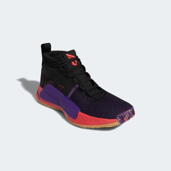 Dame 5 Shoes Core Black / Shock Red / Active Purple BB9313