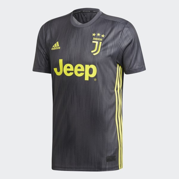 Juventus Third Jersey Grey DP0455