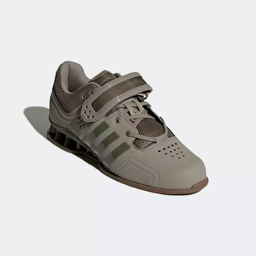 Chaussures Haltrophilie AdiPower Vert Adidas Adidas