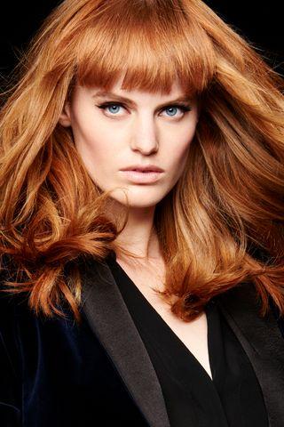 les plus belles coiffures avec frange