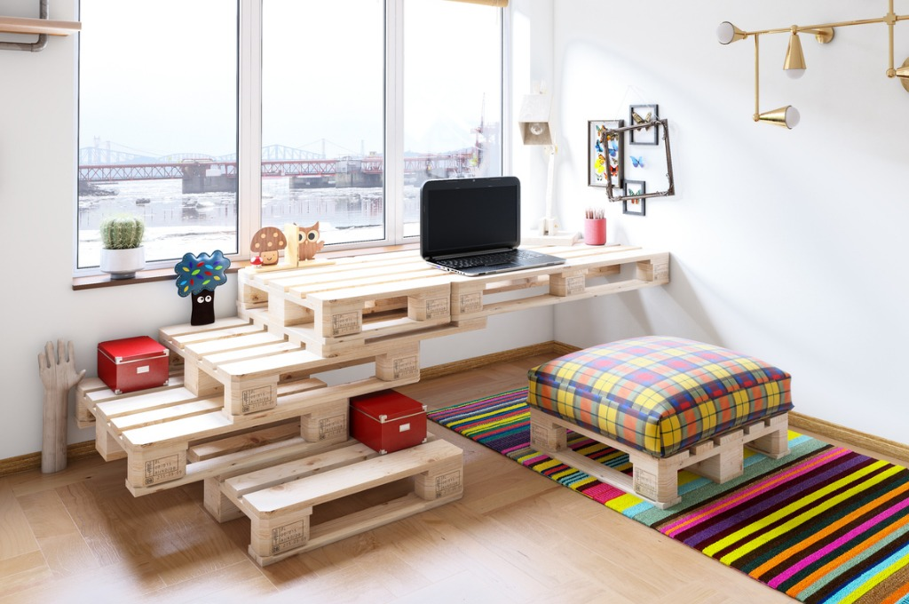 30 idees de meuble en palette pour une