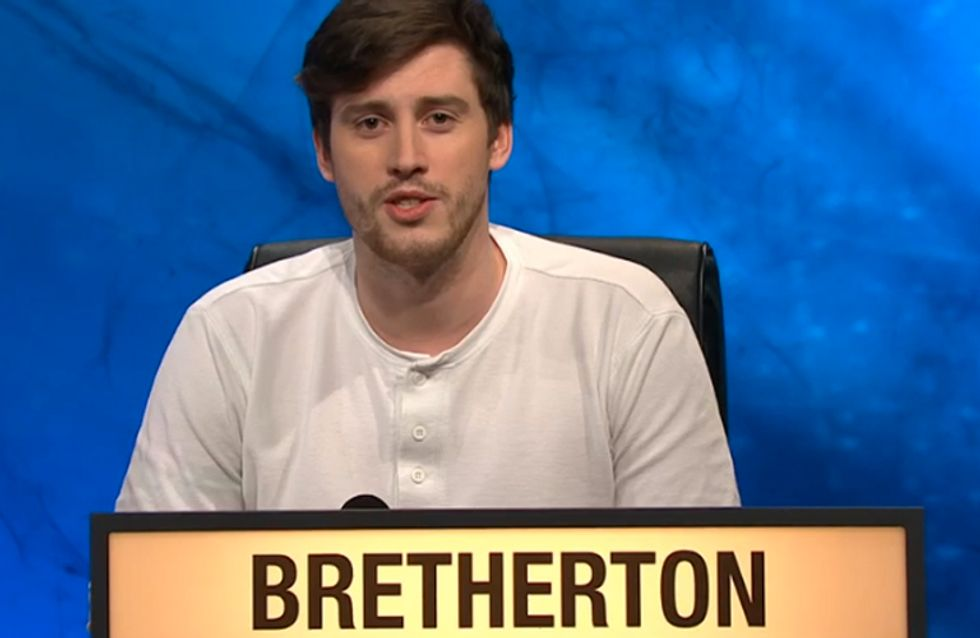 People Fell In Love With Contestant Bretherton On University Challenge