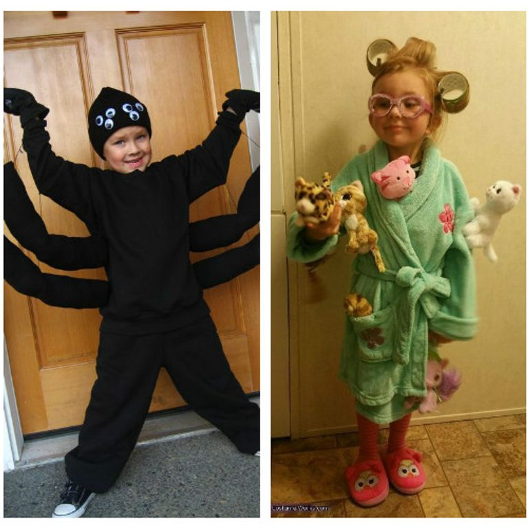 Costume Halloween Fai Da Te Per Ragazza Bambini E Altre